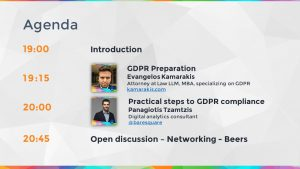 Meetup #3 intro - agenda