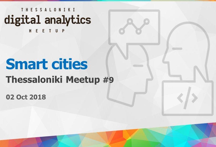 Digital analytics meetup #9 - Smart cities