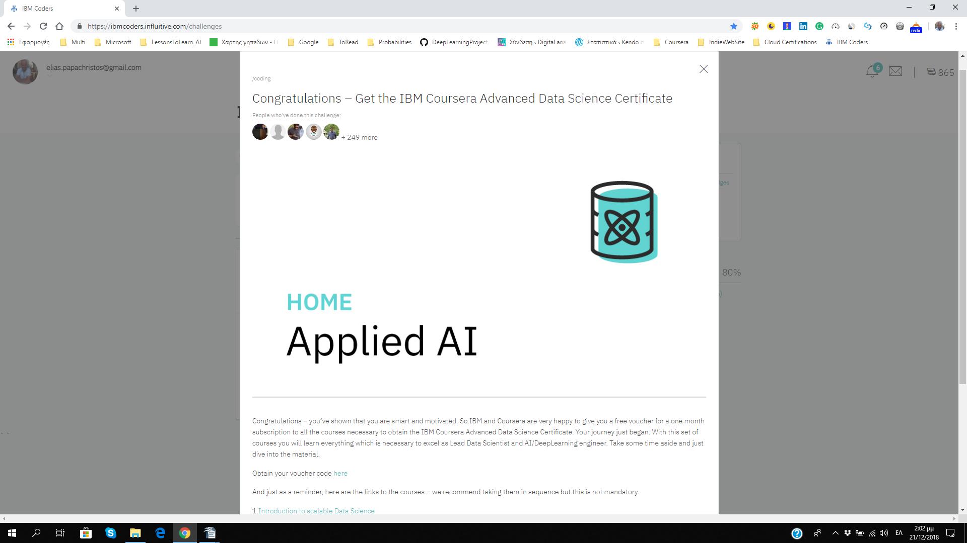 IBM Coders Programme