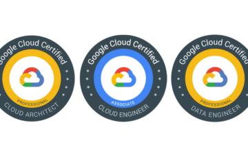 GCP certification badges