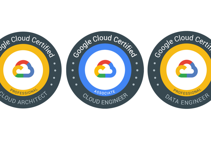 GCP certification badges